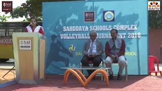 Sahodaya Schools Complex Volley Ball tournament held at SAI International School