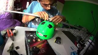 DIY 360helmet mount! It works perfectly👌