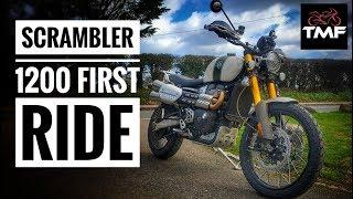2019 Triumph Scrambler 1200 XE Review