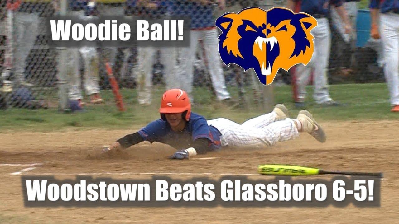 Woodstown 6 Glassboro 5 Baseball Youtube