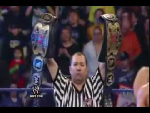 WrestleMania 25 Promo - Tag Team Championship Unification LumberJack Match [Official]