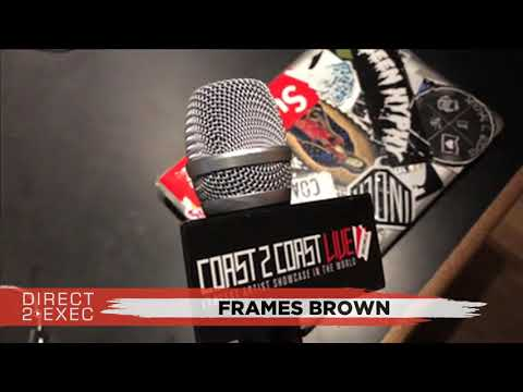 Frames Brown Performs at Direct 2 Exec Los Angeles 12/5/17 - Atlantic Records