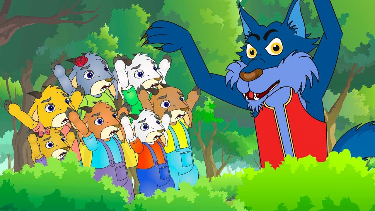 The Wolf and the Seven Little Goats Song For Children