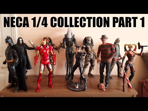 FULL NECA 1/4 SCALE FIGURE COLLECTION PART...