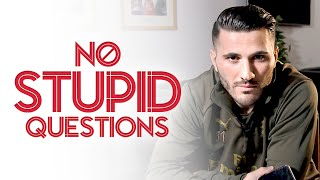 KOLASINAC & SOKRATIS AS A WWE TAG TEAM? | No Stupid Questions with Sead Kolasinac