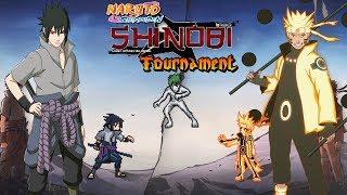 Naruto Shippuden - Shinobi Tournament | Naruto and Sasuke vs Shinobi Rumble |