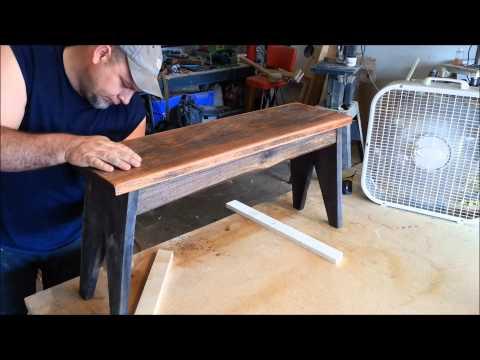 Easy Wood finishing Rustic Style!