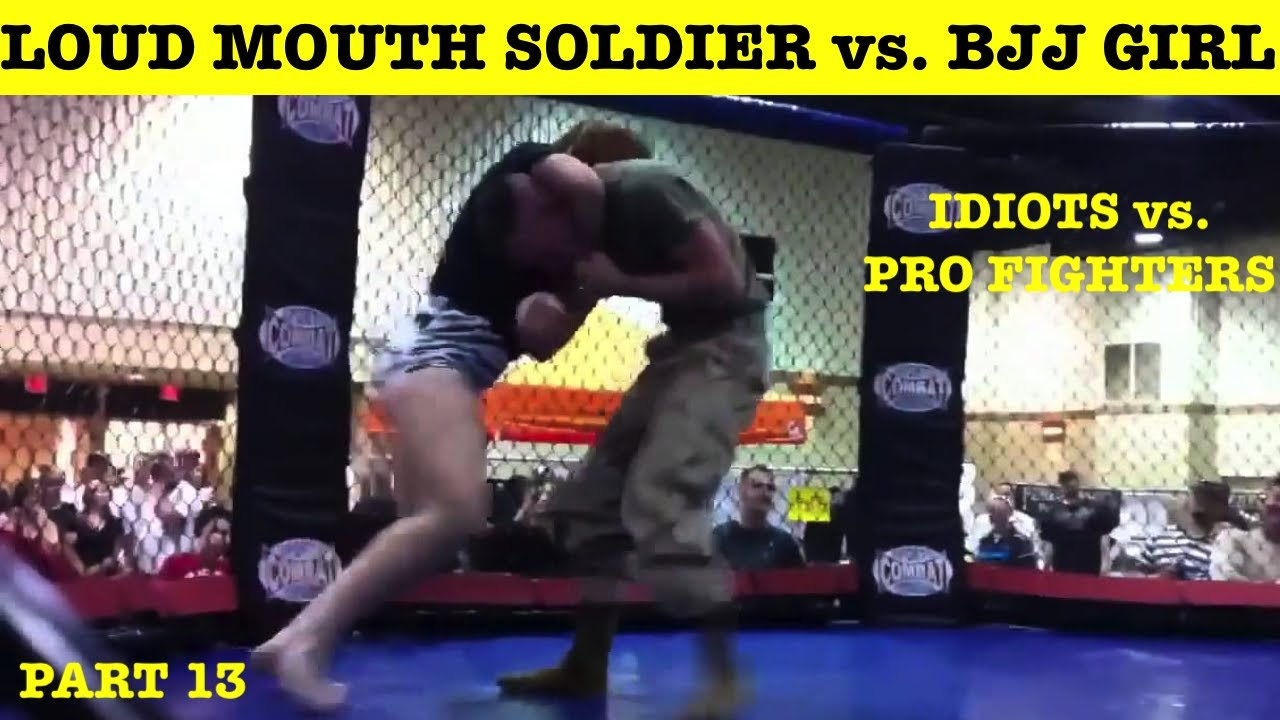 Top 10 Cocky Morons Challenging Professional Fighters and Getting Destroyed