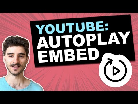 Youtube Autoplay Embed: Works On Mobile Devices (IOS & Android)