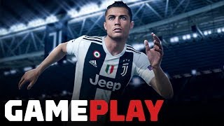 FIFA 19 Switch: Full Champions League Final Gameplay