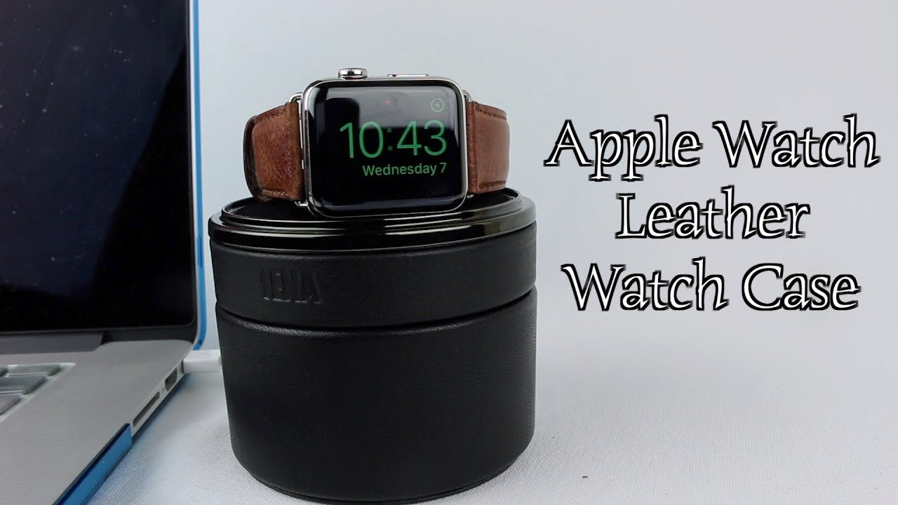 cheap for discount 188e9 d8ca2 Sena Apple Watch Leather Watch Case Review