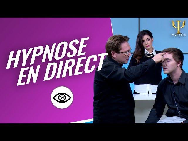 Hypnose dans l'émission En Pleine Forme Spéciale Hypnose Philippe Vernois