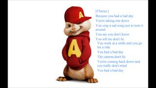 Ost. Alvin And The Chipmunks - Bad Day [Lyrics]