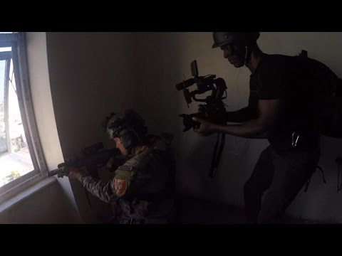 Behind the scenes: Gun battle with ISIS in Kirkuk