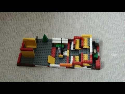 Lego dance to the tune of Fat Sam Grand Slam