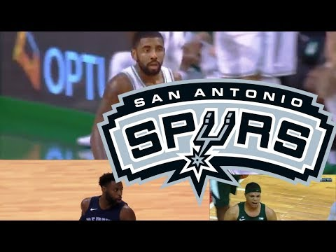 Kyrie, Lottery Pick coming to Spurs? San Antonio 2018 Offseason Look