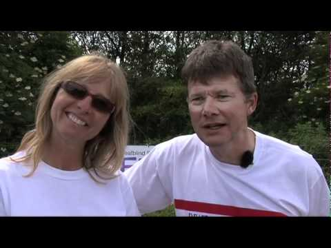 Daily Record video of Deafblind Scotland's Islands Tandem Challenge 2011