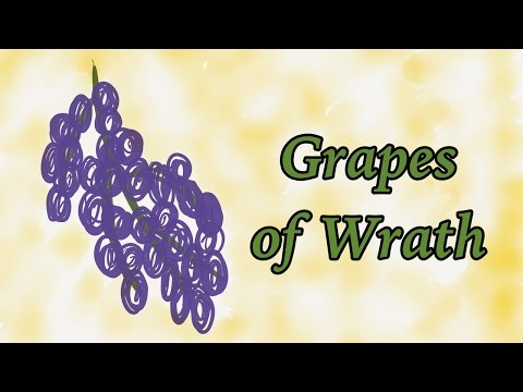 The Grapes of Wrath by John Steinbeck (Book Summary) - Minute Book Report