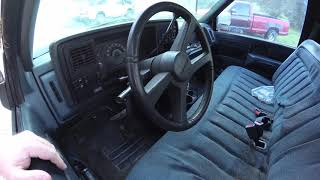"1988 Chevy Silverado ""Old Blue"" first start in years. Will it run?"