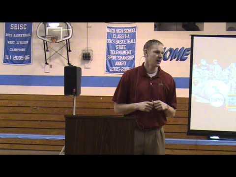 Aaron Thomas speaks at WACO 1-31-2012