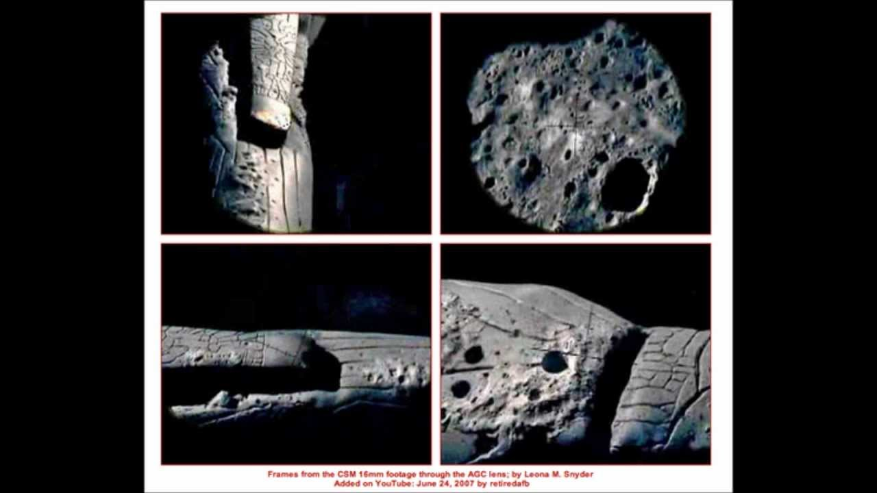 Cigar Shaped Craft on the Moon - William Rutledge and ...