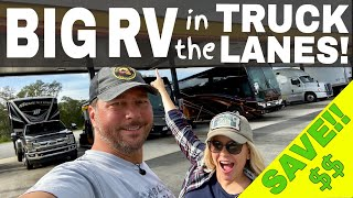 💰Save BIG on RV Diesel Fuel @ Truck Stops! | Full Time RV!