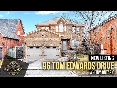 SOLD! 96 Tom Edwards Drive In Whitby! (Ontario, Canada)
