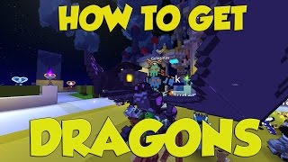 TROVE How To Get A DRAGON For Beginners