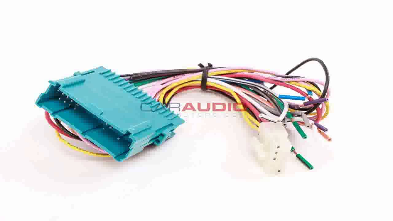 Metra GMRC 03 96 02 Cadillac CL2 Harness Adapter with Chime - YouTube