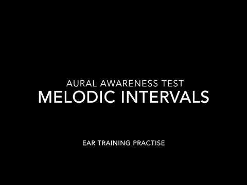 Intervals Aural Awareness Test Music Theory: Ear Training Revision