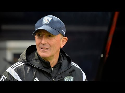 Tony Pulis reacts to Albion's 1-1 Premier League draw at Newcastle