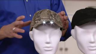 Panther Vision Powercap Hat with 4 LED Lights on QVC