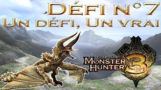 [MH3] Défi n°7 Monster Hunter Tri - Un défi, un vrai (Diablos)
