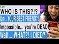 watch he video of I DIED BUT CAN STILL TEXT MY BEST FRIEND!!!! ( Unseen And Unheard | Hooked Scary Text Message Story)