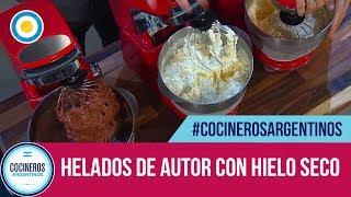 Helados artesanales de autor con hielo seco (2 de 2) - Cocineros de Noche