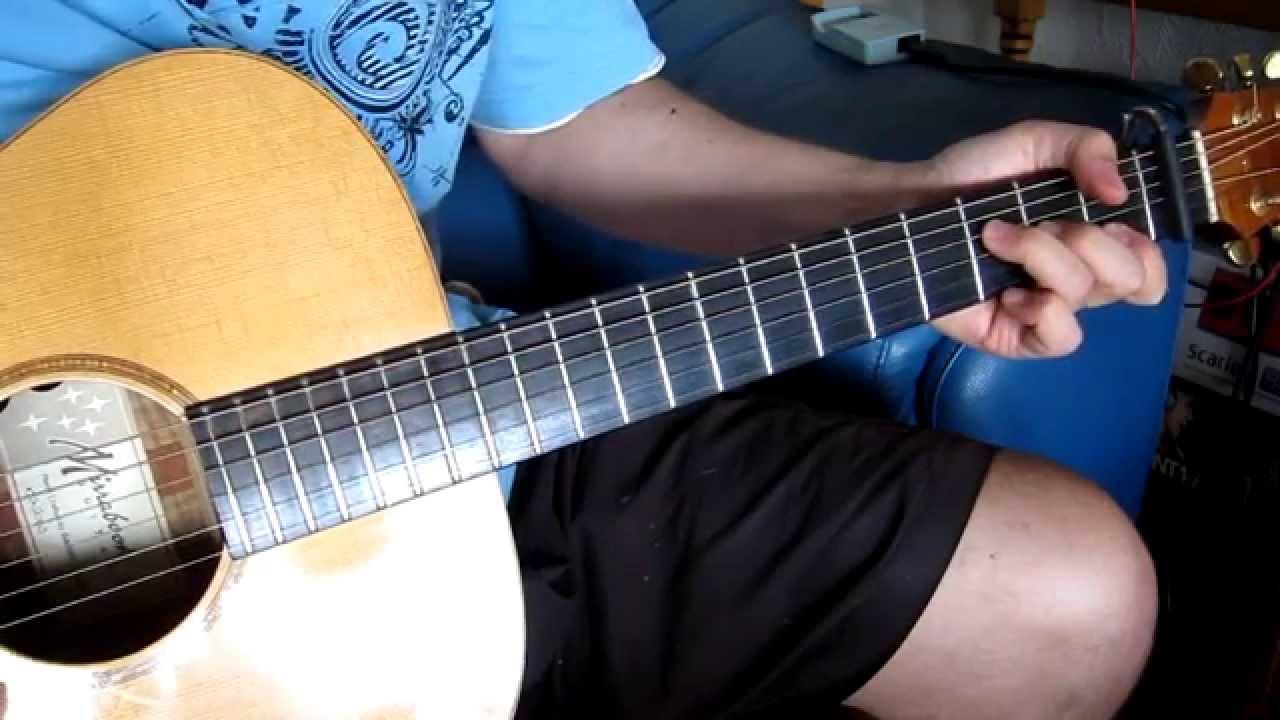 The Letter Joe Cocker Acoustic Lesson
