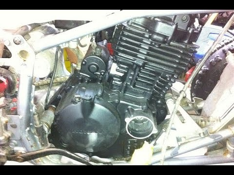 Honda TRX 400EX Engine Reembly on