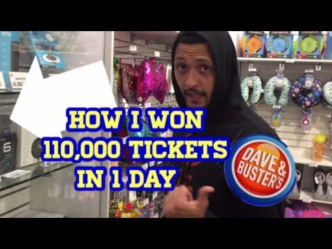 unbelievable!!!-you-won't-believe-what-i-won-in-1-day-at-dave-&-busters