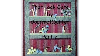 How To Make That Lock Quilt Wall-hanging - Quilting Tips & Techniques 156b