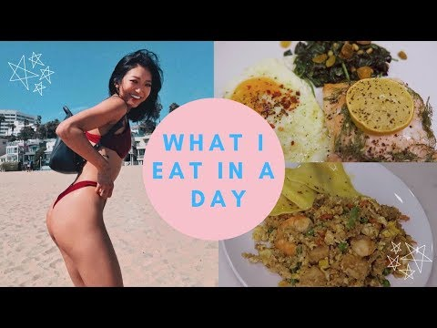 What I Eat In A Day | Instagram Model (healthy & how I stay fit)