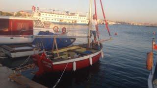 Ebihen 15 ile Bostanlı yelkeni