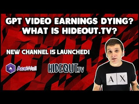 What Is Hideout.tv? - NEW CHANNEL LAUNCHED! | Acewall, Viggle & More!