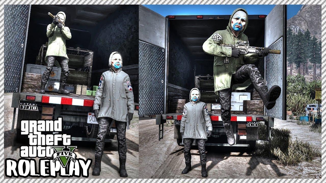 Watch GTA 5 REAL LIFE CJ MOD #161 - THE BLUE HOUSE!!!(GTA 5 REAL