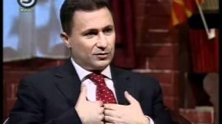 Премиерот Никола Груевски (26.11.2010) 3дел