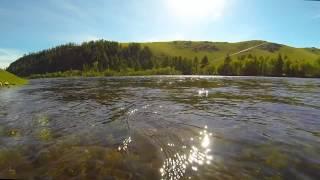 Гопро: Монголія Herlen Річкова Рибалка
