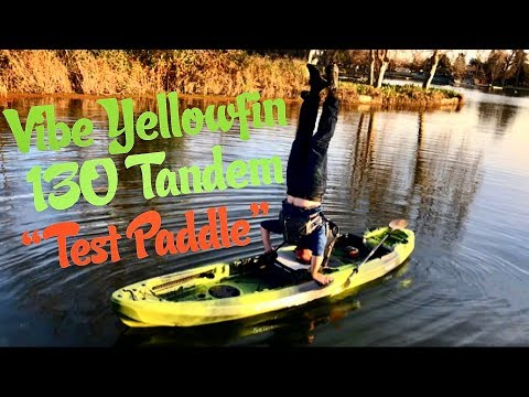 Vibe Yellowfin 130 Tandem: On Water Review + Shenanigans