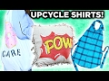 3 Ways To Repurpose Old Shirts