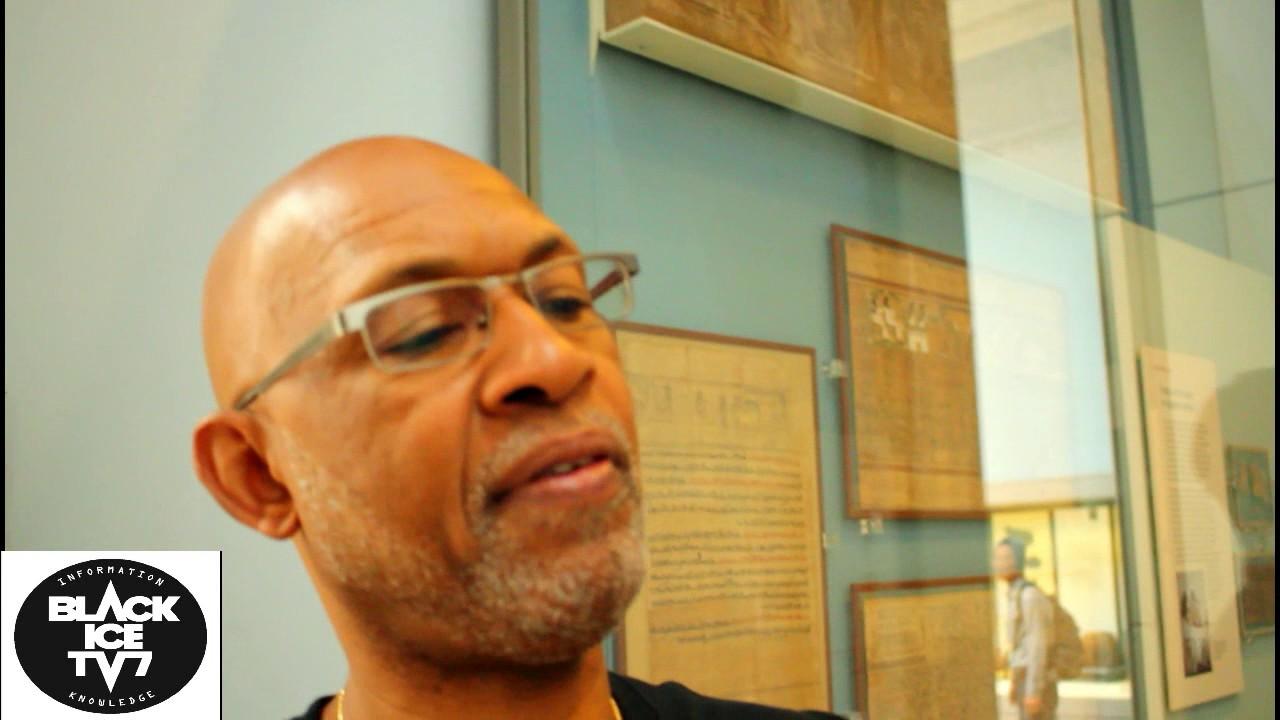 Anthony Browder at the British Museum PT2