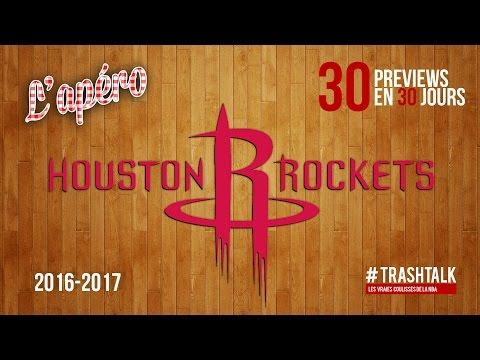 Apéro TrashTalk - Preview saison 2016/17 : Houston Rockets