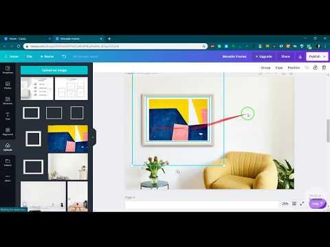 How to use movable frame mockups for selling artworks online? - [PART 1] - Standard frame ratios